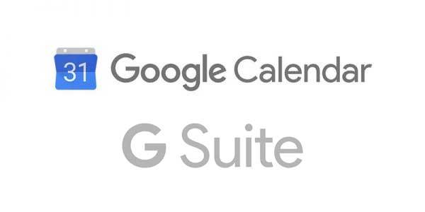 Google Calendar & GSuite